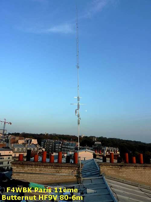 (Dossier d'antenne par F6GOX. Installation d'antenne par F6FVY et F6GOX. Photo F6GOX)