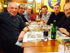 Marc F6DTB, Jean-Pierre F10298, Jean-Marc F3JP, Nicolas F1RAF, Laurent F6FVY, Dick F4WBK