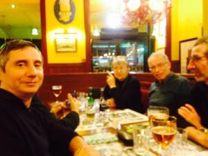 Laurent F6FVY, Nadine XYL F4WBK, Marc F6DTB, Jean-Pierre F10298