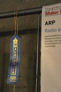 F6KVP a obtenu un ruban bleu (Editor's Choise Blue Ribbon) qui récompense les exposants pour leur créativité, leur ingéniosité et l'innovation.