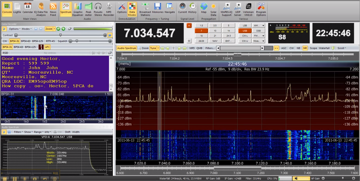 SDR_console